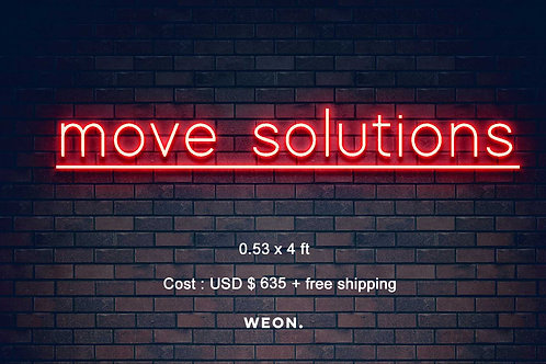 Custom Neon Sign ( Megan Monette )
