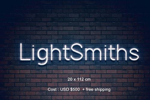 Custom Neon Sign ( Lightsmiths )