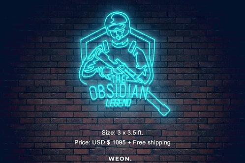 Custom Neon Sign ( Taibah alnaqi )