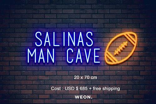 Custom Neon Sign ( Sarai Verastegui )