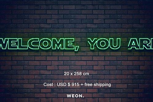 Custom Neon Sign ( Jeannette Tran )