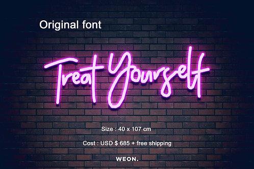 Custom Neon Sign ( Lynn Calzada  )