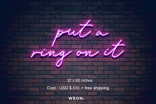 Custom Neon Sign ( Brittney Maynard )