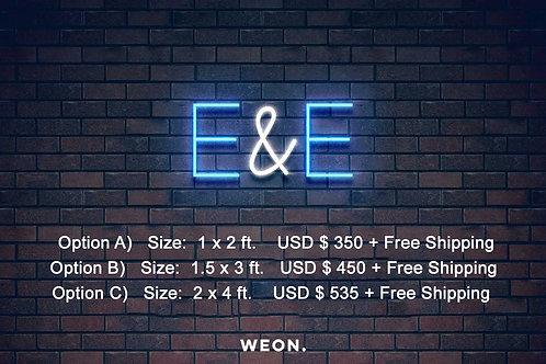 Custom Neon Sign ( Eric T )
