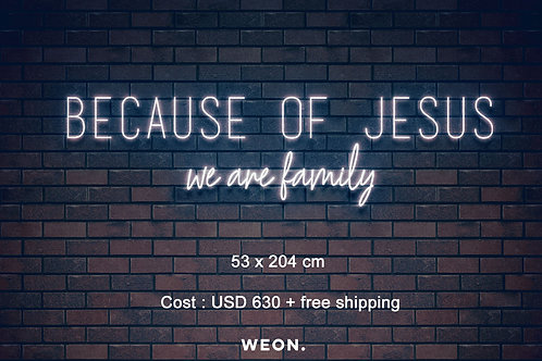 Custom Neon Sign (  Joseph Banks )