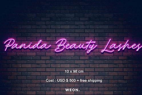 Custom Neon Sign (Panadda Chasten)