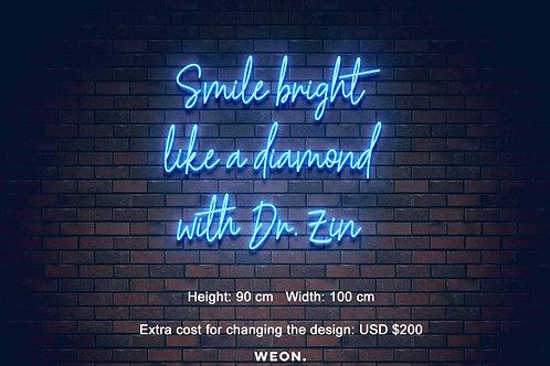 Custom Neon Sign ( Farzin Kohan - extra cost )