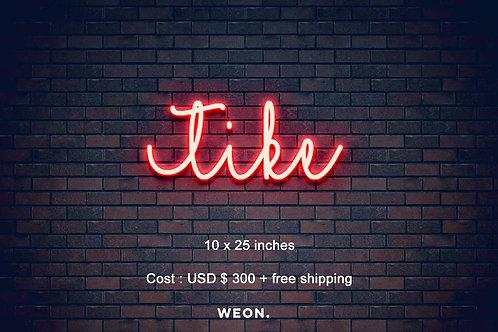 Custom Neon Sign ( Destani Cable  )