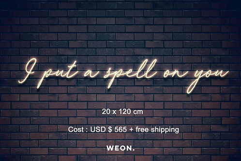 Custom Neon Sign ( Emily Temple )