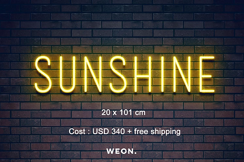 Custom Neon Sign (Sunshine)