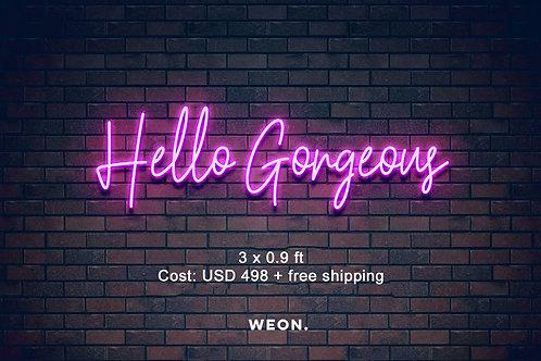 Custom Neon Sign ( Cortny Alvarez )