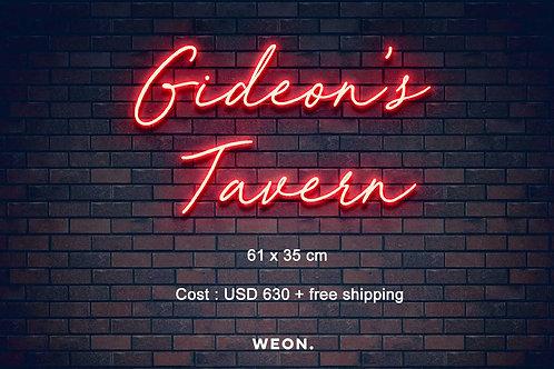 Custom Neon Sign ( Brendan Flanigan )
