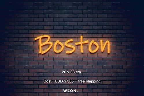 Custom Neon Sign ( Kayla Curtsinger )