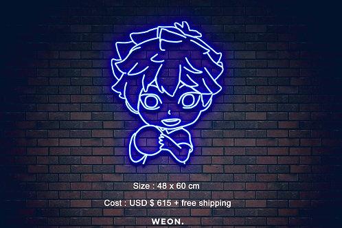 Custom Neon Sign ( Johnny Morris )