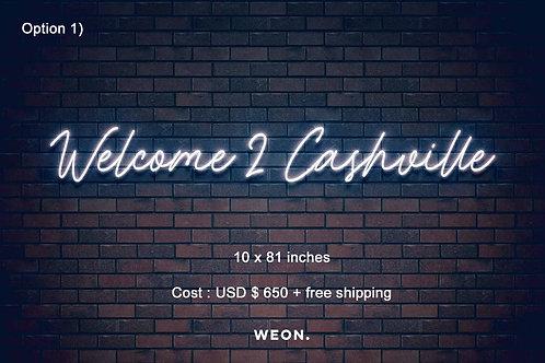 Custom Neon Sign ( Elijah Watson  )