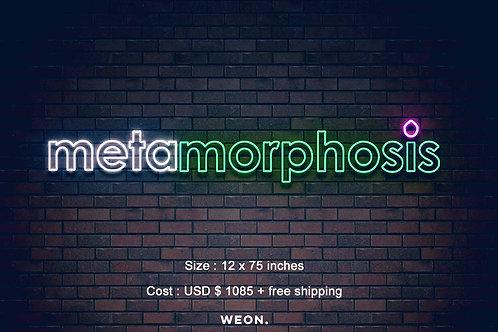 Custom Neon Sign ( Meta Staff )