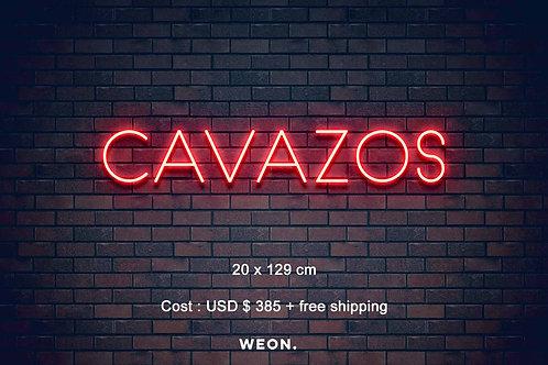 Custom Neon Sign ( Astrid Cavazos )