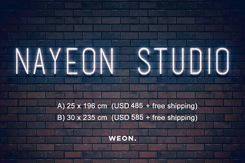 Custom Neon Sign ( NaYeon Kim )