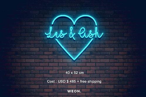 Custom Neon Sign ( Ashley Laprairie )