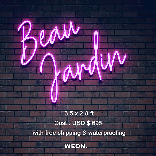 Custom Neon Sign (Jerry Morant)