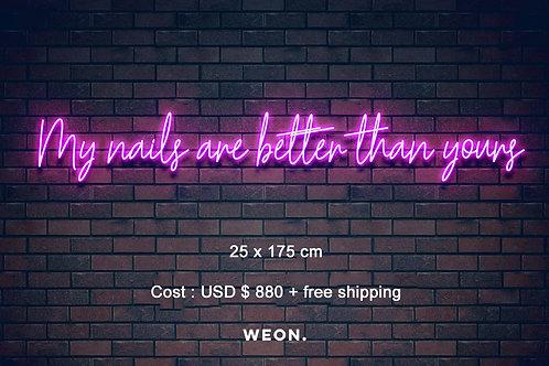 Custom Neon Sign ( abby_apt )