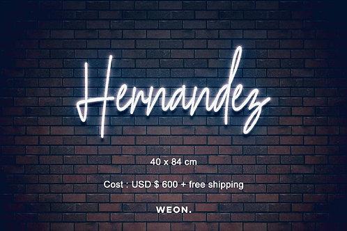 Custom Neon Sign ( Stefhanie Hernandez )