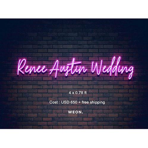 Custom Neon Sign ( Margaret Feil  )