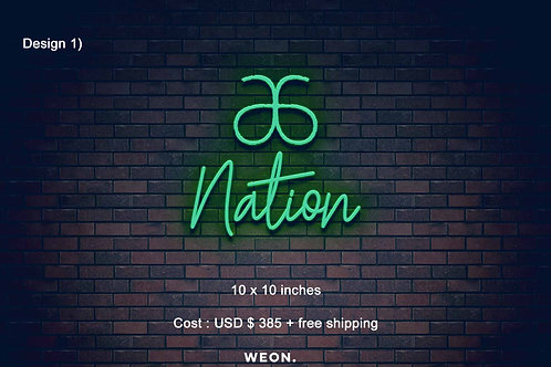 Custom Neon Sign (  Stephen Line )