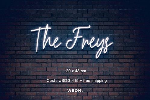 Custom Neon Sign ( Morgan Brenke )