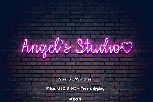 Custom Neon Sign ( Angelique Lumpkins )
