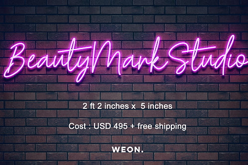Custom Neon Sign (Lana)