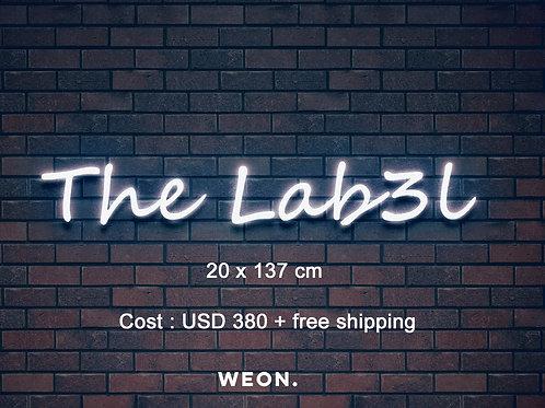 Custom Neon Sign ( Lacey Meece )