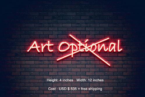 Custom Neon Sign ( Dagmar Painter )