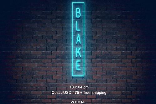 Custom Neon Sign ( Blake Matthews )  )