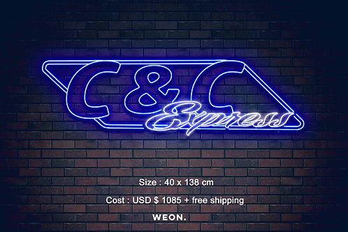 Custom Neon Sign ( Brayton Duff )
