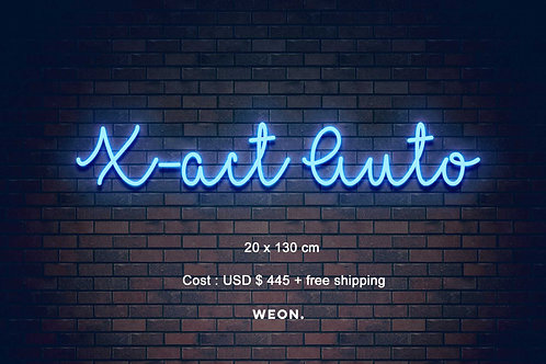 Custom Neon Sign ( Kristi B )