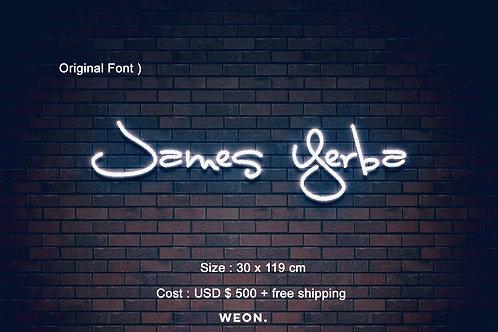 Custom Neon Sign ( James Scholle  )