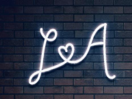 Custom Neon Sign ( Lauren & Andrew )