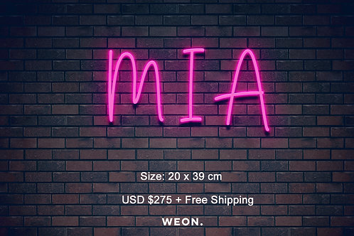 Custom Neon Sign ( Beatriz B )