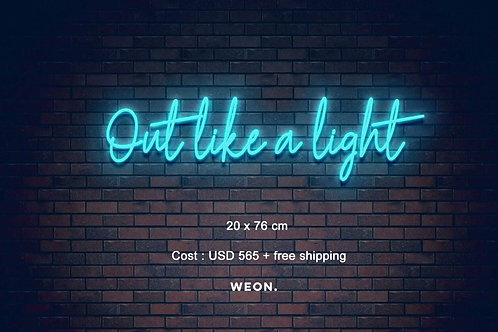 Custom Neon Sign ( Gab Vondra  )