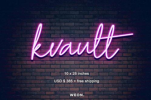 Custom Sign (kvault)