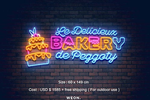 Custom Neon Sign ( Peggoty Francois  )