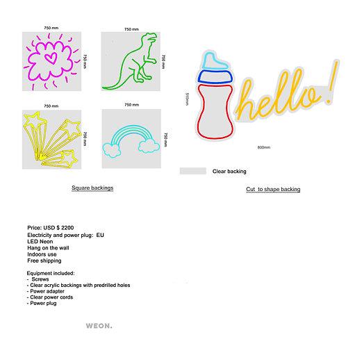 Custom Neon Sign ( Delphine Van Hecke )