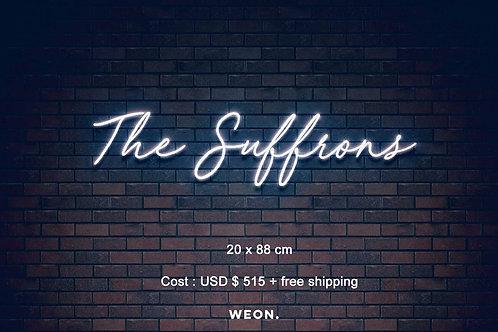 Custom Neon Sign ( Alex Suffron )
