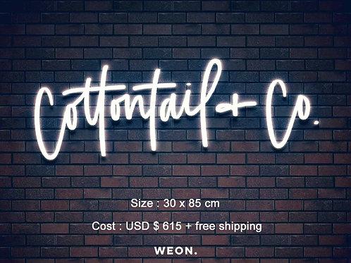 Custom Neon Sign (  Alexandra English )