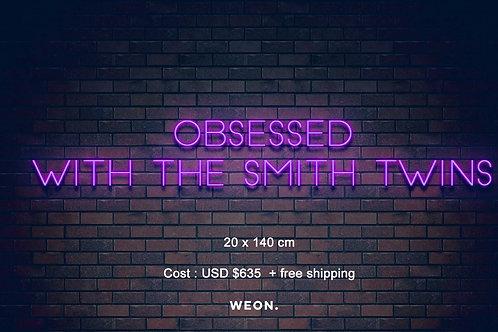 Custom Neon Sign ( Jemima Smith )