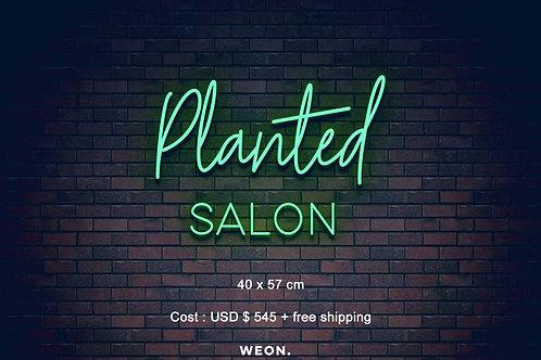 Custom Neon Sign ( Tori Plant  )