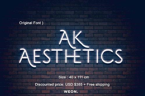Custom Neon Sign ( AK Aesthetics )