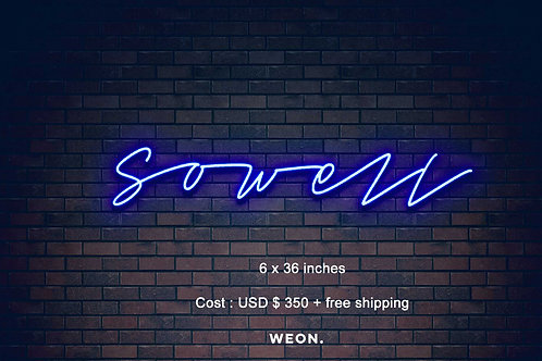 Custom Neon Sign ( Tracey Ivy )