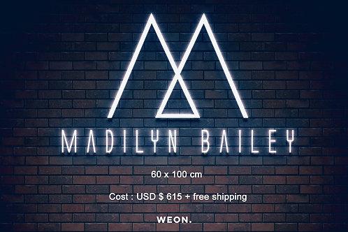 Custom Neon Sign (Madilyn Bailey)